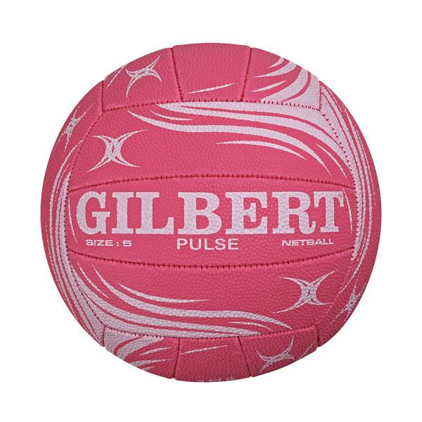 gilbert pulse pink netball